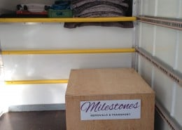 milestones removals international pallet shipping service