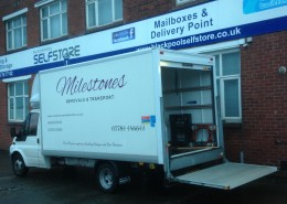 Milestones Removals Storage Job to Blackpool