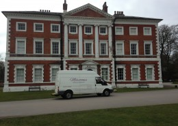 Milestones Removals at Lytham Hall